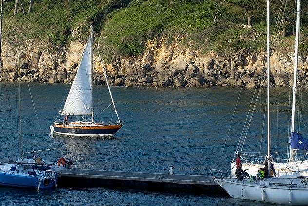 Nautisme durable port bateau voile