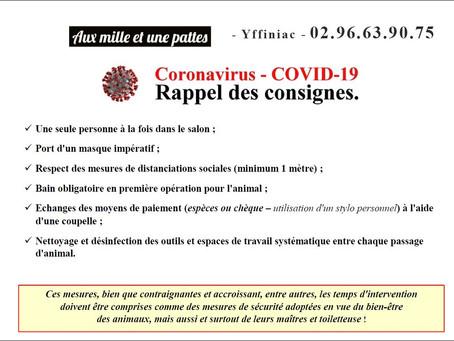 Sécurité COVID19