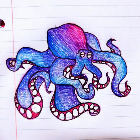 Pen Octopus