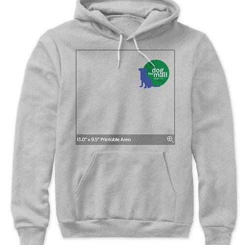 Dog Mall Canvas Poly-Cotton Premium Sweatshirt / Hoodie