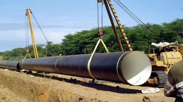instalación de tuberías