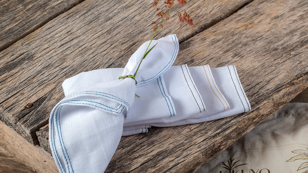 Set de servilletas de uso diario (X 5)
