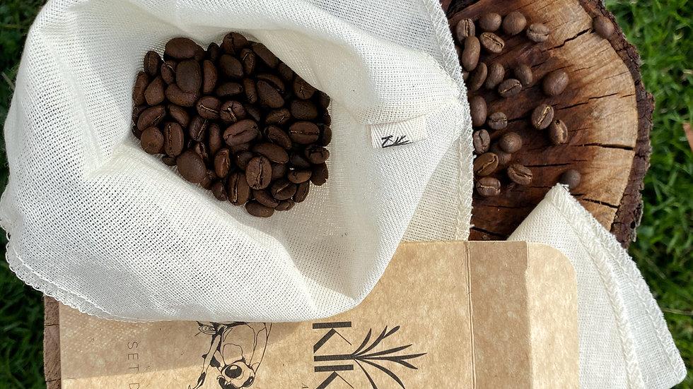 Set filtros de café