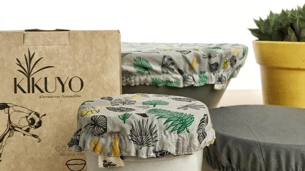 Set de cobertores con elástico