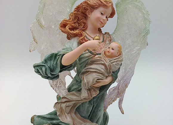 Protection angel lamp
