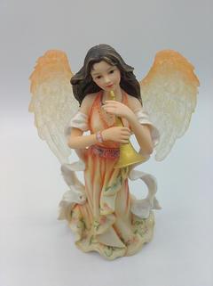 A trumpet angel