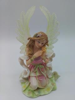 A kneeling angel