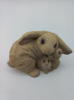 Bunny stone critters