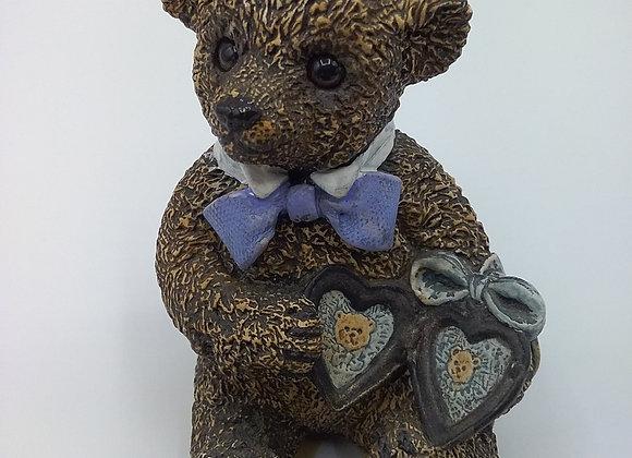 Teddy with locket