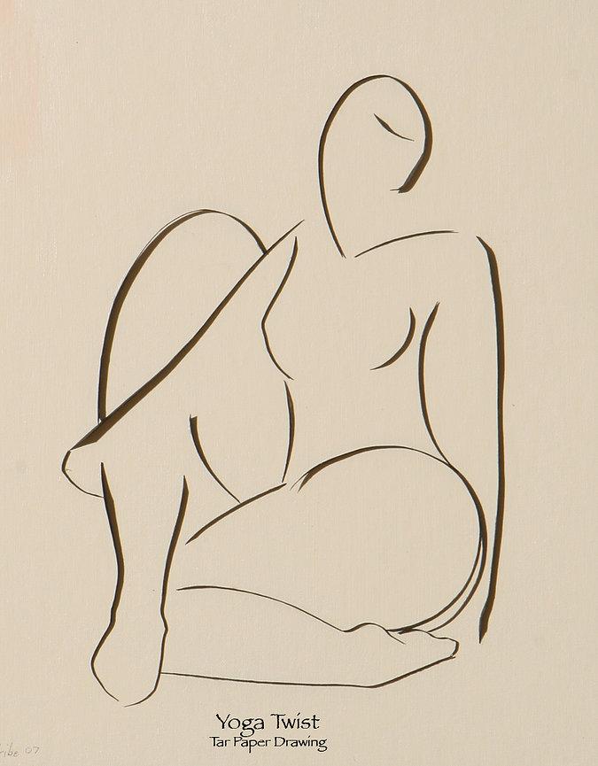Yoga Art, Figurative Art, Alex Uribe
