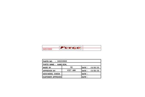 NAMESEAL 3V0319900 | FUEGO