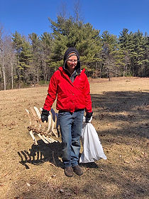 Nancy with Some Finds