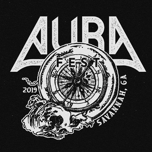 AURA Fest 2019 Black T Shirt