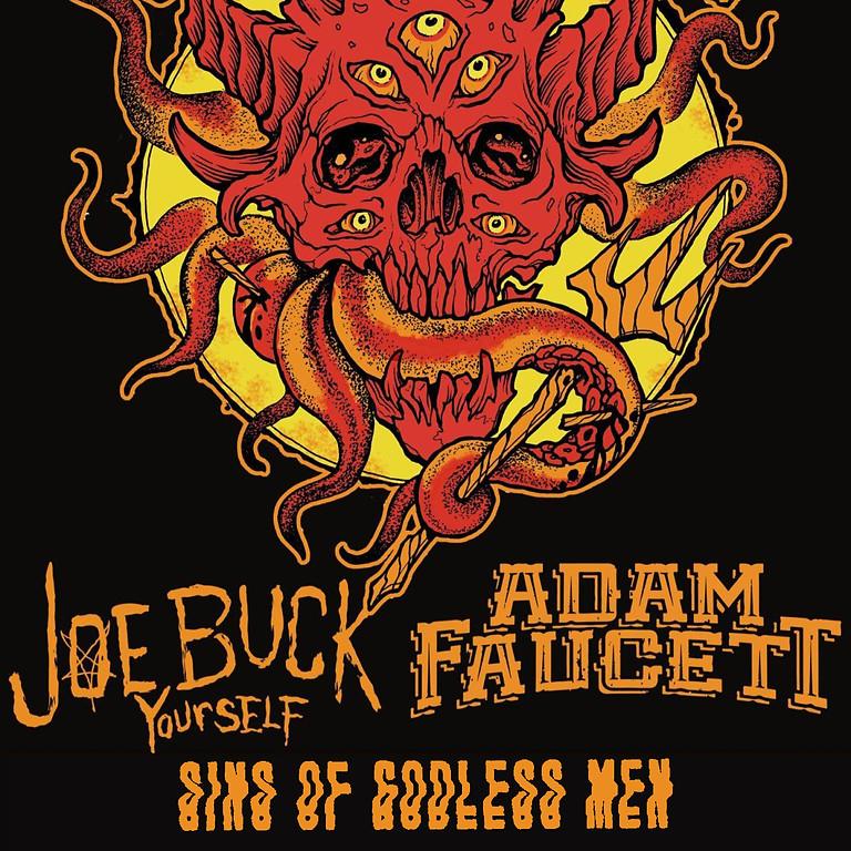 Weedeater, Joe Buck Yourself, Adam Faucett, Sins of Godless Men at El Rocko