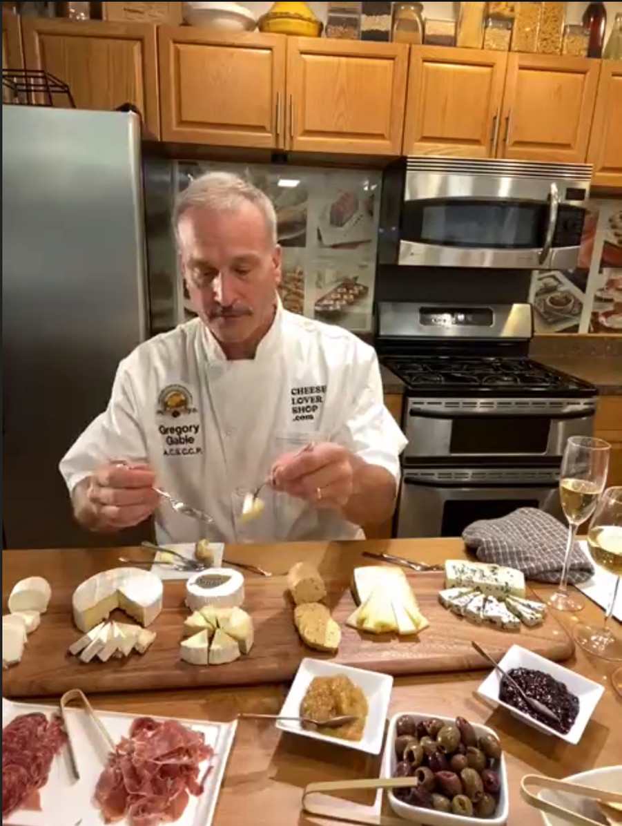 Greg presents the Award-winning French Cheeses