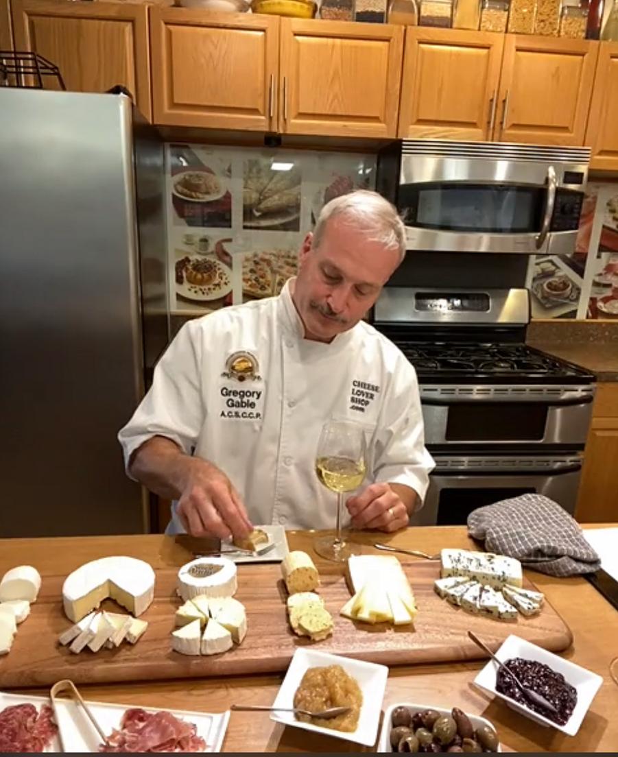 Chef Greg Gable, Savencia Cheese USA, presents the Award-winning French Cheeses.