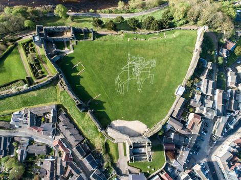 Richmond Castle, public commission   Ed Kluz