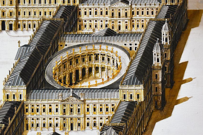 Ed Kluz, Inigo Jones, Whitehall Palace, design for Whitehall Palace, historic palace, unbuilt architecture