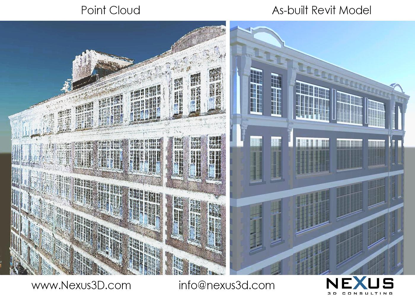 Point Cloud to Revit - Building