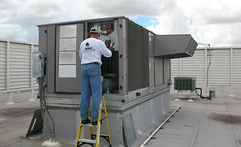 HVAC on Roof Maintenance