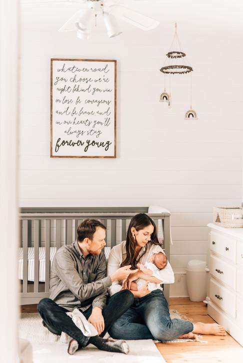 fredericton lifestyle newborn photography