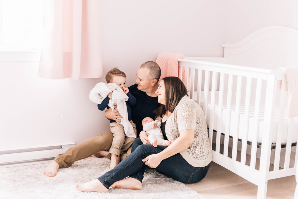 fredericton lifestyle newborn photographer
