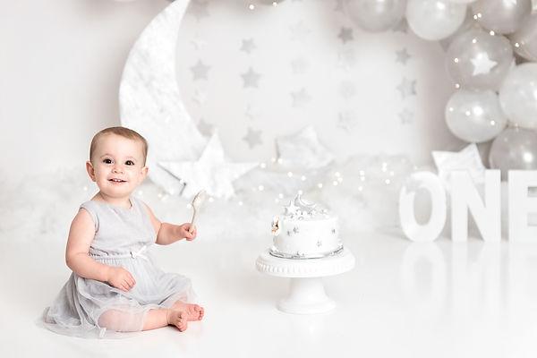 cake smash photography fredericton