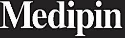 White Medipin Logo Black Background.jpg