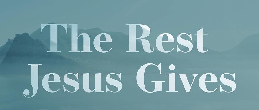 141 - The Rest Jesus Gives By Pastor Jeff | LT38593
