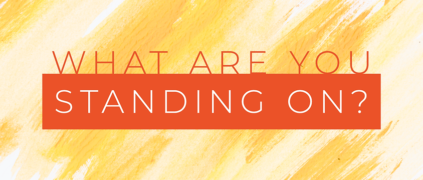 129 - What Are You Standing On? By Pastor Jeff | LT38519