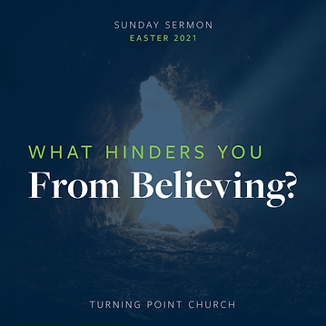 166 - What Hinders You From Believing?  By Pastor Jeff | LT38866