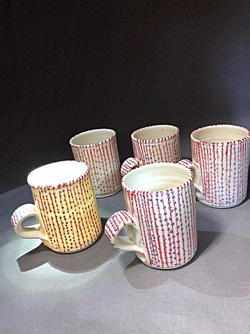 5 Mug Set