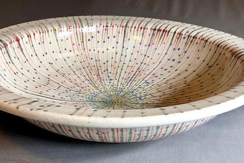 Point line Plain Bowl