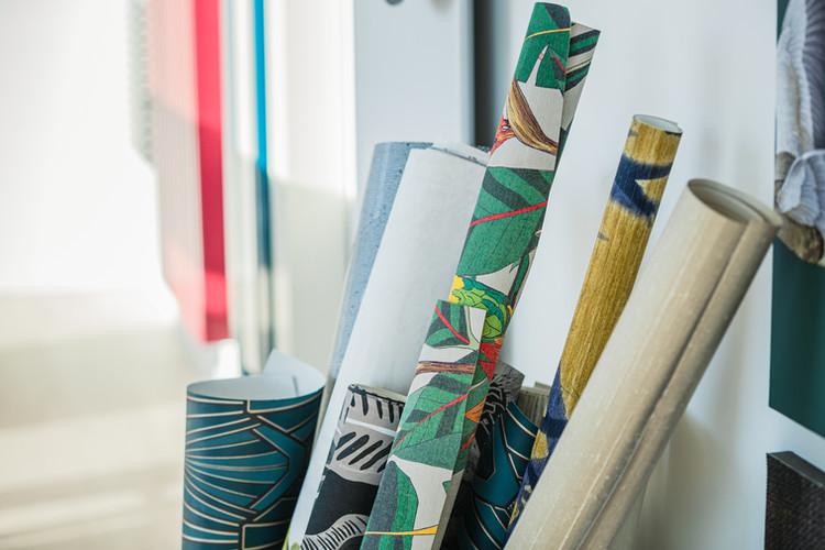 Showroom Infini Legno _ Papier Peint