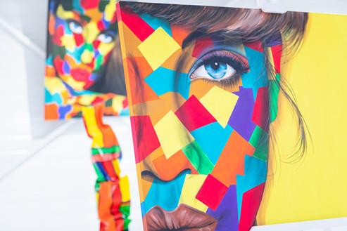 Showroom Infini Legno _ Oeuvre d'art