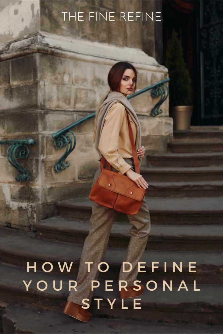 stylish woman defined personal style