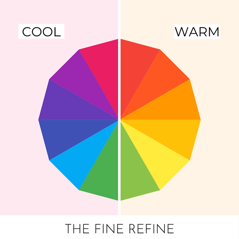 cool colors vs warm colors