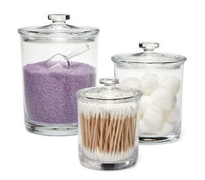 counter top canisters for your bathroom