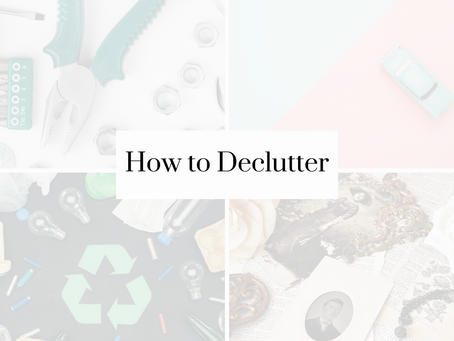 The Ultimate Decluttering System