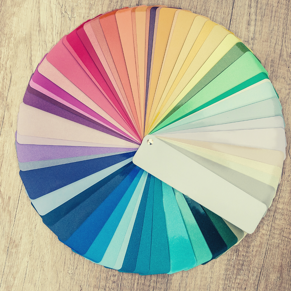 Color wheel for personal style