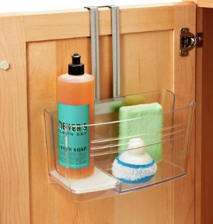 over the cabinet door organizer from the container store