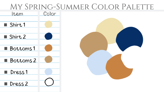 my spring summer solor palette to always look elegant and expensive