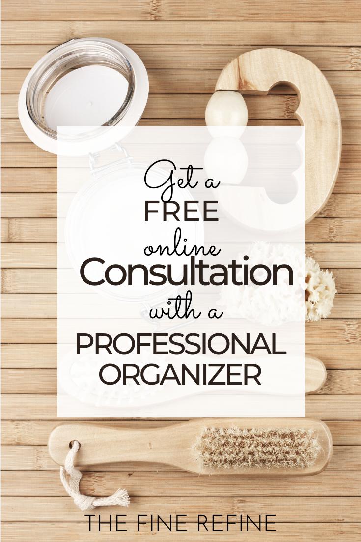 professional organizer consultation