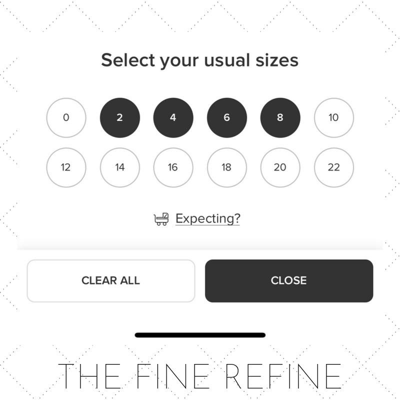 rent the runway how to choose size