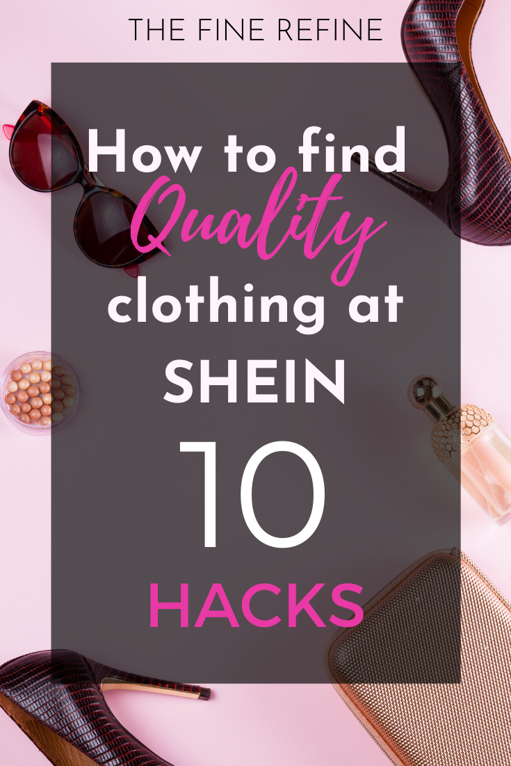 How to find quality clothing at shein for cheap