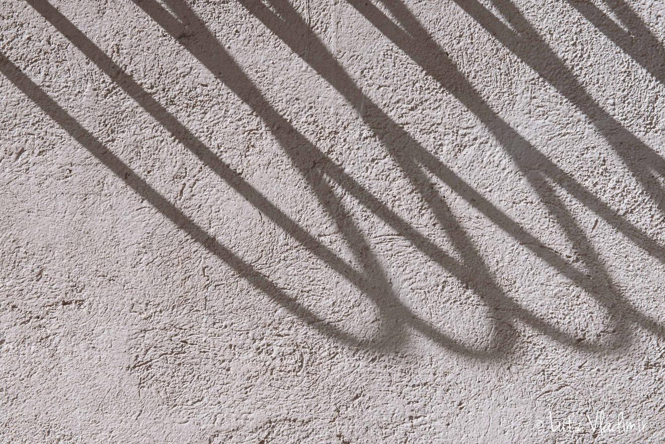 ombre sur crépis