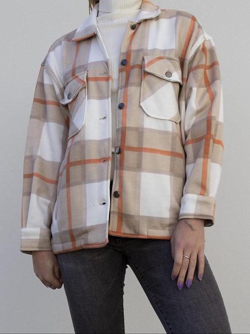 Overhemd Jack Beige