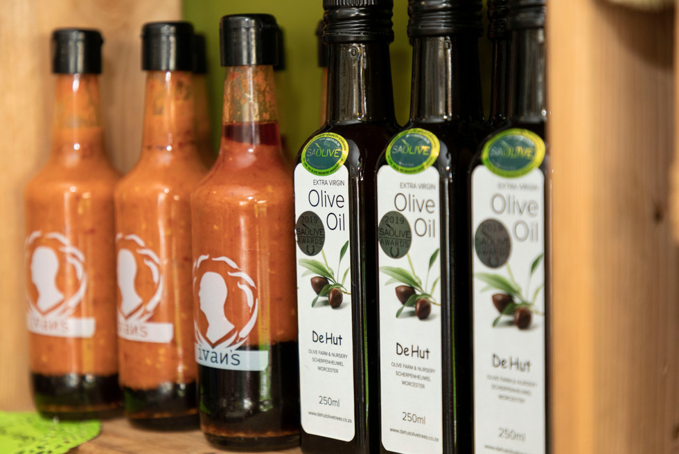Sauces, Oils and Confectionaries