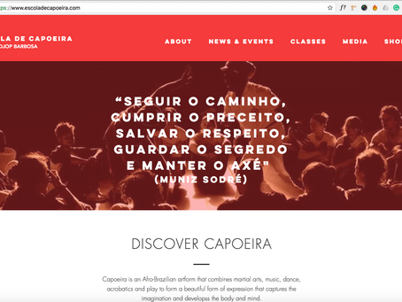 Welcome to our NEW SITE! seja bemvindo!