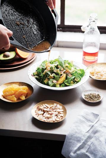 Arugula Salad, Skillet Love